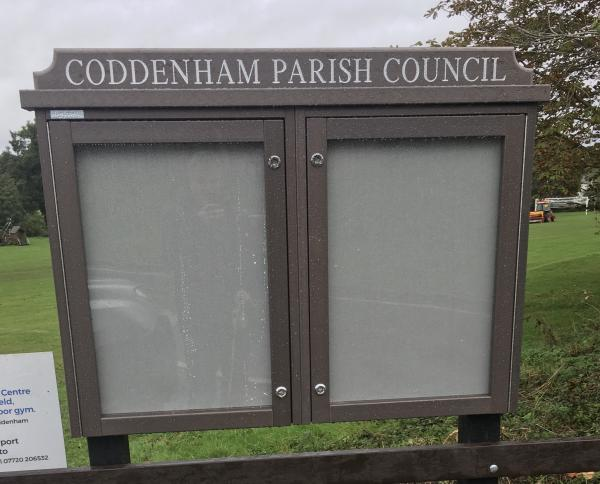 New Parish Council Noticeboard